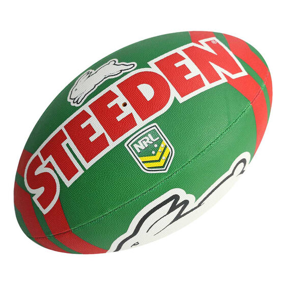Steeden Nrl South Sydney Rabbitohs Rugby League Ball Rebel Sport