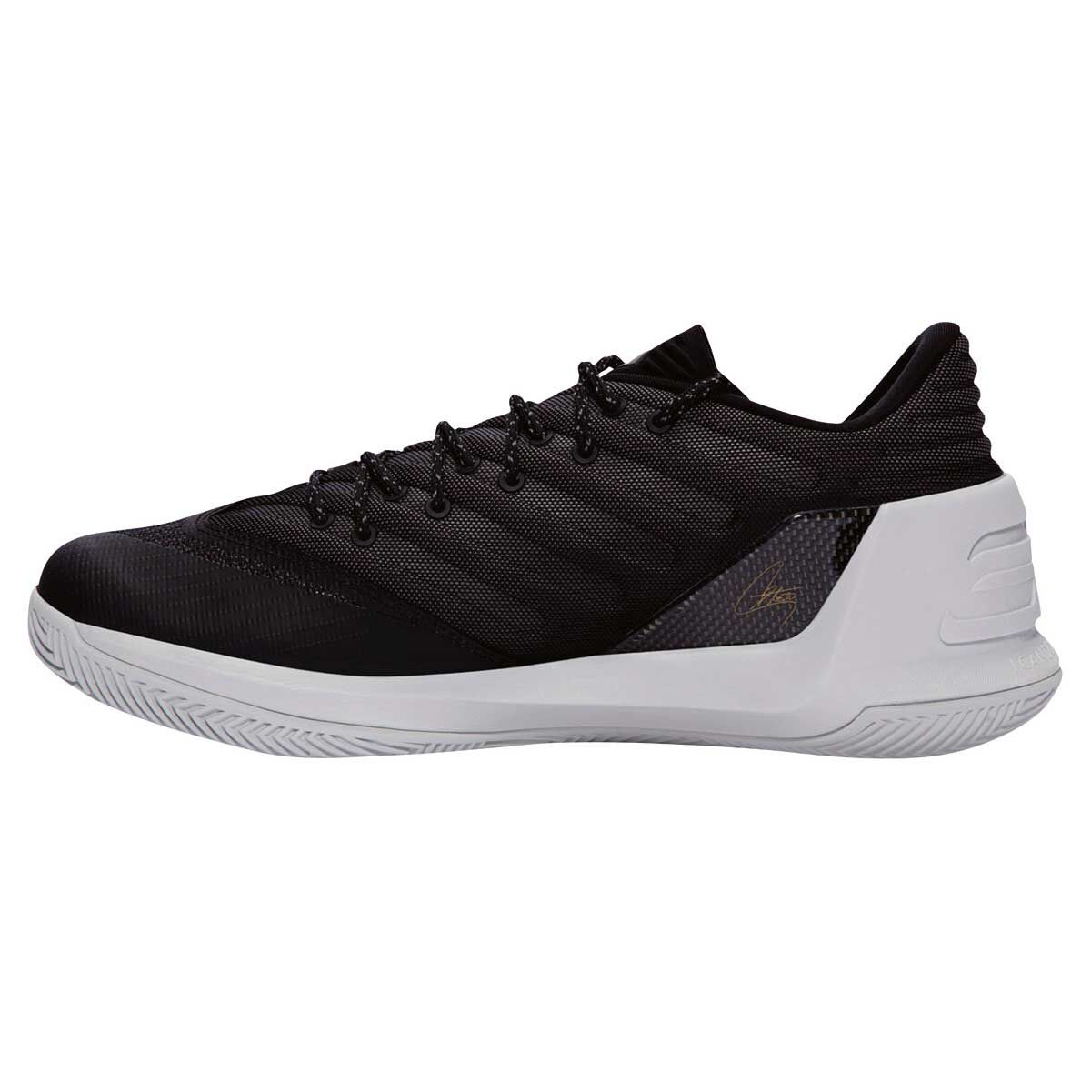 62edc9587ac ... spain under armour curry 3 low mens basketball shoes black grey us 7  black 3beb2 00971