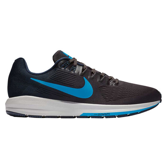 Nike Air Zoom Structure 21 Mens Running Shoes, Navy / Blue, rebel_hi-res