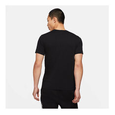 Nike Mens Sportswear Just Do It HBR Tee Black XS, Black, rebel_hi-res