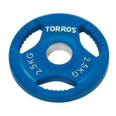 Torros 2.5kg Olympic Plate, , rebel_hi-res
