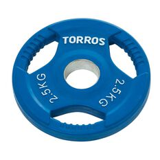 Torros 2.5kg Olympic Plate, , rebel_hi-res