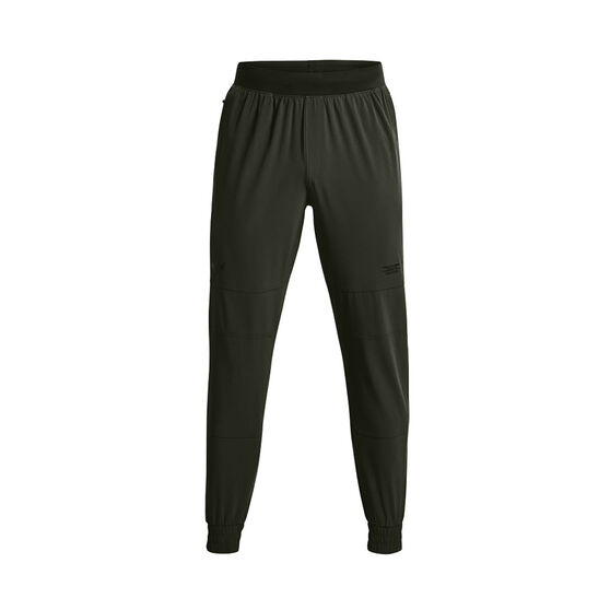 Under Armour Mens Project Rock Unstoppable Pants, , rebel_hi-res