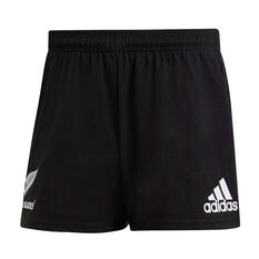 All Blacks Mens Supporter Shorts Black XS, Black, rebel_hi-res