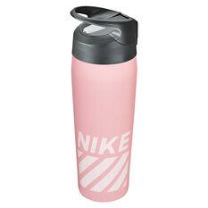 Nike Hypercharge Stainless Steel 473ml Water Bottle, Storm Pink, rebel_hi-res