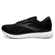 Brooks Glycerin 18 Mens Running Shoes Black/White US 8, Black/White, rebel_hi-res