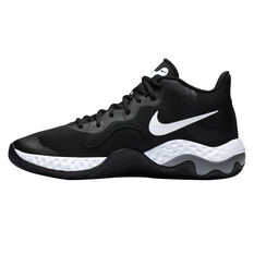 Nike Renew Elevate Mens Basketball Shoes Black/White US 7, Black/White, rebel_hi-res