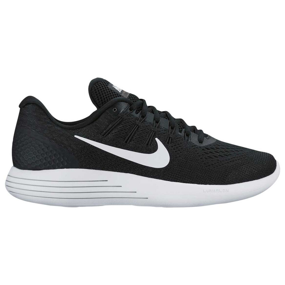 d6497aef907e Nike Lunarglide 8 Mens Running Shoes Black   White US 7