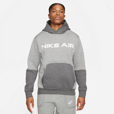 Nike Mens Air Pullover Hoodie Carbon XS, Carbon, rebel_hi-res