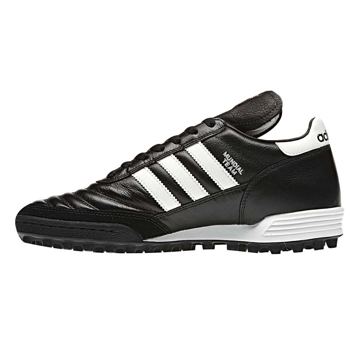 adidas Mundial Team Mens Touch and Turf Shoes Black / White US 13