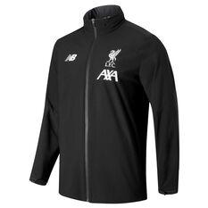 Liverpool FC 2019/20 Mens Phantom Base Storm Jacket Black S, Black, rebel_hi-res
