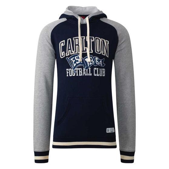 Carlton Blues Mens Collegiate Pullover Hoodie, , rebel_hi-res
