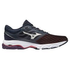 Mizuno Wave Prodigy 3 Womens Running Shoes Black/White US 6, Black/White, rebel_hi-res