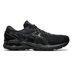 Asics GEL Kayano 27 4E Mens Running Shoes, Black, rebel_hi-res