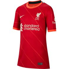Liverpool FC 2021/22 Kids Home Jersey Red XS, Red, rebel_hi-res