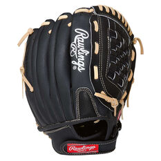 Rawlings SS 12in RHT Baseball Glove Black / Grey 12in, , rebel_hi-res