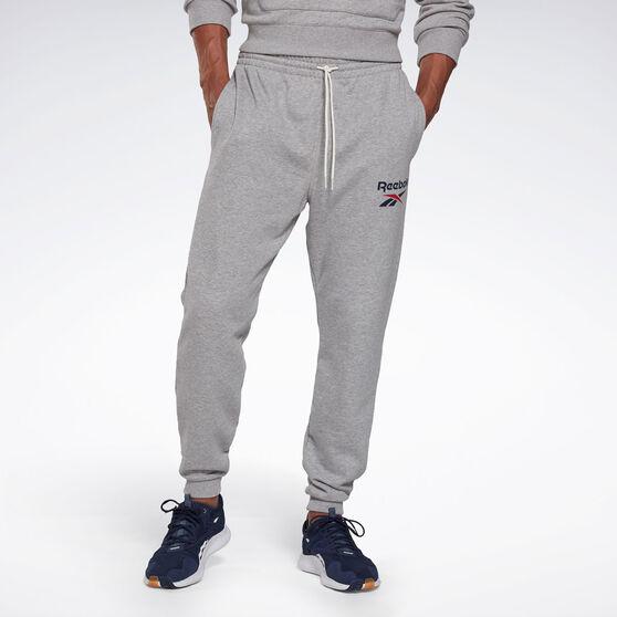 Reebok Mens Identity Big Logo Sweatpants, Grey, rebel_hi-res