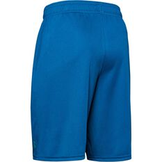Under Armour Boys Prototype Wordmark Shorts Teal XS, Teal, rebel_hi-res
