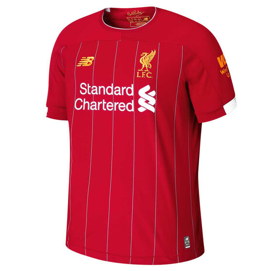 Liverpool FC 2019 / 20 Mens Home Jersey, Red, rebel_hi-res