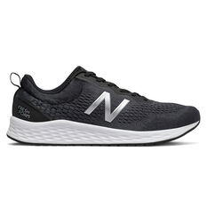 New Balance Fresh Foam Arishi v3 Mens Running Shoes, Black/White, rebel_hi-res