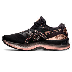 Asics GEL Nimbus 23 Womens Running Shoes Black US 6, Black, rebel_hi-res