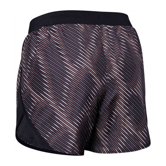 Under Armour Womens Fly By 2.0 Printed Shorts, Print, rebel_hi-res