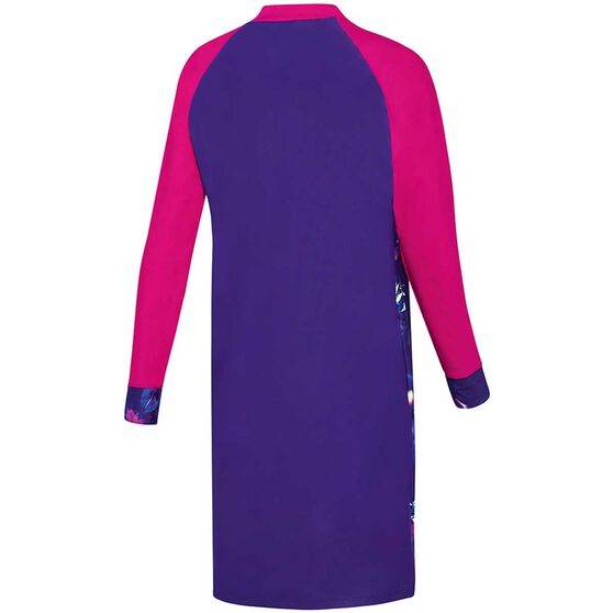 Speedo Womens Swim Dress, Purple, rebel_hi-res