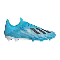 adidas X 19.3 Football Boots Blue / Black US Mens 7 / Womens 8, Blue / Black, rebel_hi-res