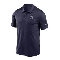 Dallas Cowboys 2020 Mens Logo Essential Polo Navy S, Navy, rebel_hi-res