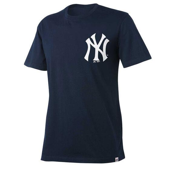 New York Yankees Mens Drimer Tee, Navy, rebel_hi-res