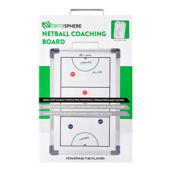 Terrasphere Netball Coaching Board, , rebel_hi-res