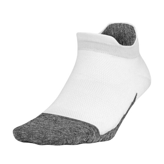 Feetures Elite Ultra Light No Show Tab Socks, White, rebel_hi-res