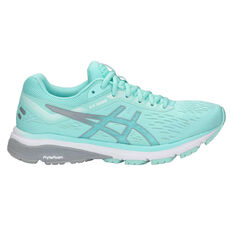 Asics GT 1000 7 Womens Running Shoes Teal / Silver US 6, Teal / Silver, rebel_hi-res