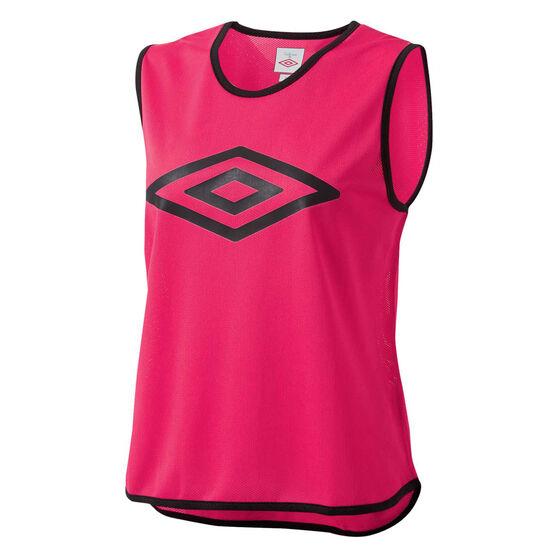 Umbro Training Bib, Pink, rebel_hi-res