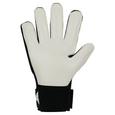 Nike Match Junior Goalkeeper Gloves Black / White 4, Black / White, rebel_hi-res
