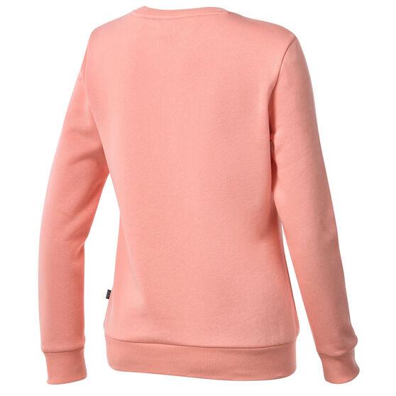 Puma Womens Essentials Logo Crew Neck Sweater, Orange, rebel_hi-res