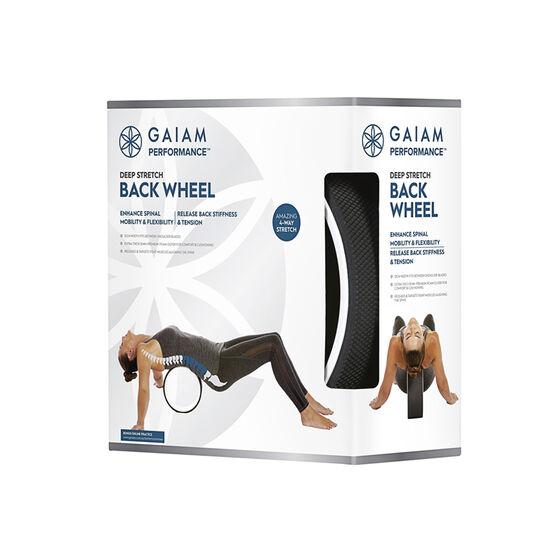 Gaiam Deep Stretch Back Wheel, , rebel_hi-res