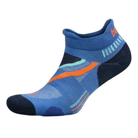 Balega UltraGlide No Show Socks, Blue, rebel_hi-res