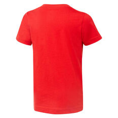 Nike Boys Futura Air Tee Red / White 4, Red / White, rebel_hi-res