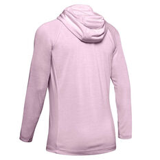 Under Armour Womens UA Tech Twist Hoodie Pink XS, Pink, rebel_hi-res