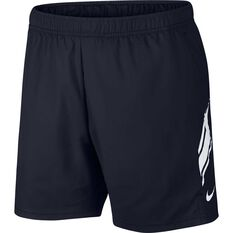 Nike Mens NikeCourt Dri-FIT Tennis Shorts Black S, Black, rebel_hi-res
