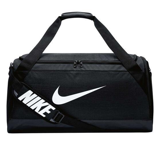 Nike Brasilia 6 Medium Duffel Bag Black, , rebel_hi-res