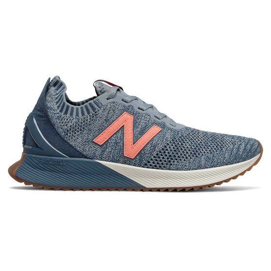 New Balance Echo Womens Running Shoes Blue US 7.5, Blue, rebel_hi-res