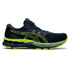 Asics GEL Nimbus 23 Lite Show Mens Running Shoes Blue/Silver US 8, Blue/Silver, rebel_hi-res