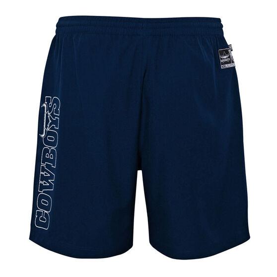 North Queensland Cowboys 2021 Mens Sports Shorts, Navy, rebel_hi-res
