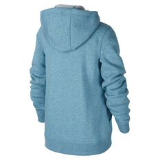 Nike Boys Sportswear Volume Fleece Club Hoodie Blue / White XS, Blue / White, rebel_hi-res