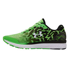 info for 14d35 e85df ... Under Armour Charged Bandit 4 Kids Running Shoes Green   Black US 4,  Green