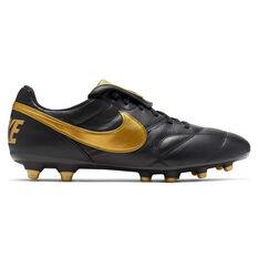 Nike Premier II Football Boots Black / Gold US 7 / Wo8.5, Black / Gold, rebel_hi-res