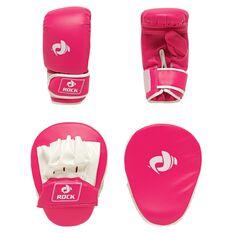 Rock Boxing Focus Pad Kit Pink / White, , rebel_hi-res