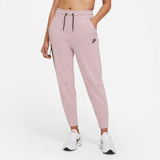 Nike Womens Sportswear Tech Fleece Pants Pink XS, Pink, rebel_hi-res